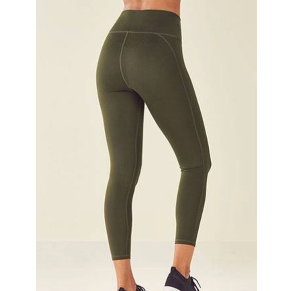 947dc5d784ca5 Fabletics Pants - Fabletics high waisted 7/8 powerhold olive green S